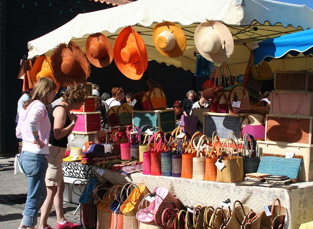les marchés de Noirmoutier