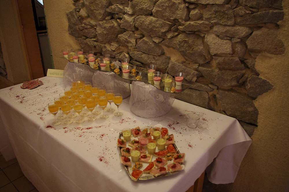 Buffet accueil groupes pro