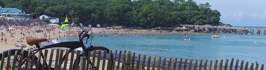 Village vacances à Noirmoutier avec un accès direct à la plage